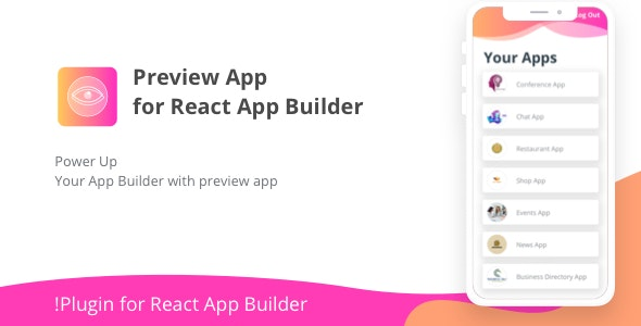 Preview App for React App Builder - CodeCanyon Item for Sale