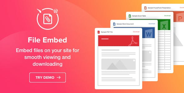 File Viewer - WordPress File Embed Plugin