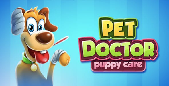 Little Cat Doctor: Puppy Pet Doctor Game (Android + IOS)
