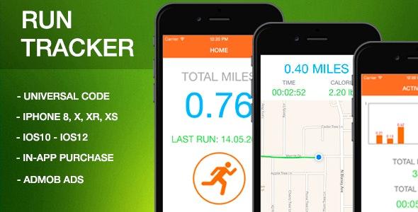 Run Tracker - IOS Full App Code - CodeCanyon Item for Sale