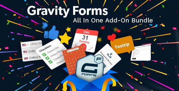 Gravity Forms All In One Add-on Bundle - CodeCanyon Item for Sale