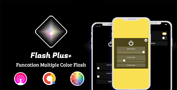 Flash Plus - Multiple Color Flash App for IOS