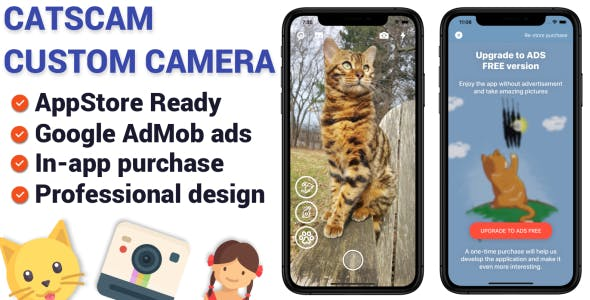 CatsCam - iOS Custom Camera