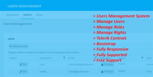 Users Management