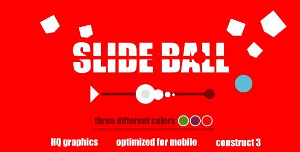 Slide Ball - HTML5 Game (Construct3)