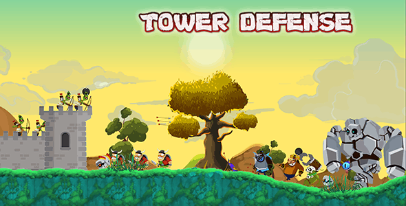TOWER DEFENSE - COMPLETE UNITY GAME