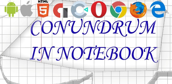 Сonundrum in Notebook - CodeCanyon Item for Sale