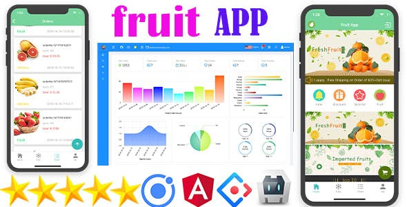 Ionic5 Fruit App with Firebase