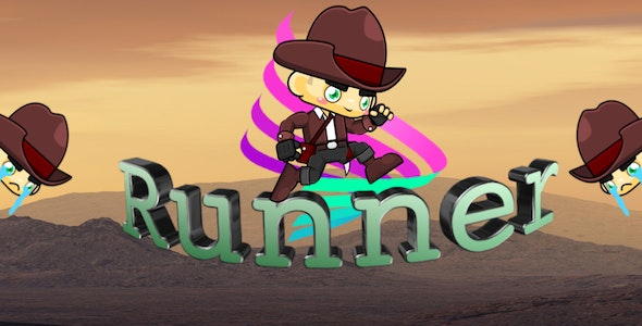 The Runner - Full iOS & Android game + in-app purchases - CodeCanyon Item for Sale