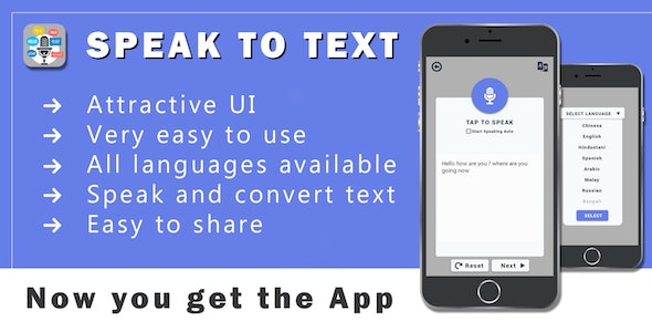 Voice Translator All language , Speak to text - CodeCanyon Item for Sale