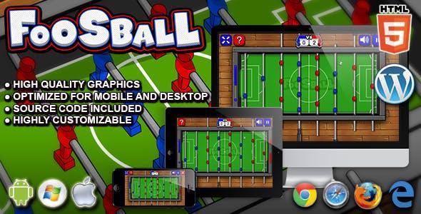 Foosball - HTML5 Sport Game