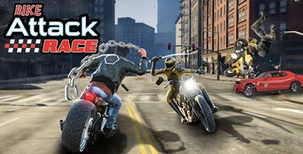 Bike Attack Race : Highway Tricky Stunt Rider (Android + IOS)