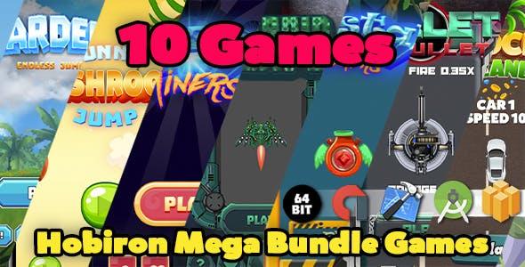 Hobiron Mega Game Bundle ( 10 BBDOC Games in 1 )
