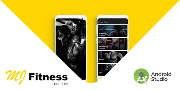 MJ Fitness | Android UI Kit - CodeCanyon Item for Sale