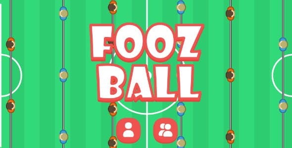 FoozBaLL | 2 Player Game | HTML5 Android & ios