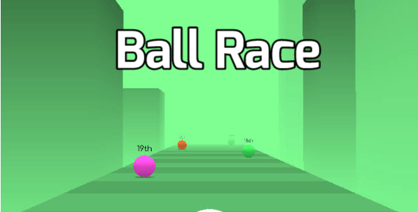 Ball Race / Hyper Casual Game