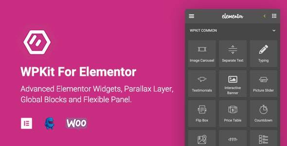 WPKit For Elementor | Advanced Elementor Widgets Collection & Parallax Layer - CodeCanyon Item for Sale