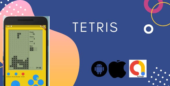 Tetris Flutter Game With Admob  Application