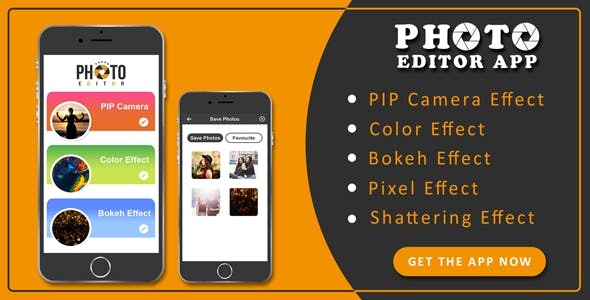 Photo editor app source code