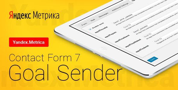 Contact Form 7 - Yandex.Metrica Goal Sender | Яндекс.Метрика Отправка Целей - CodeCanyon Item for Sale