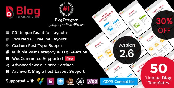 Image result for Blog Designer PRO for WordPress