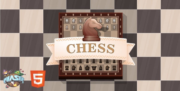Chess - HTML5 Game (Phaser 3) - CodeCanyon Item for Sale