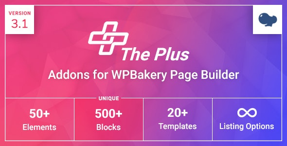 The Plus Addons for WPBakery Page Builder (formerly Visual Composer) - CodeCanyon Item for Sale
