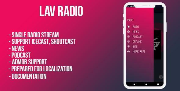 Lov Radio Bundle ( android & ios pack)