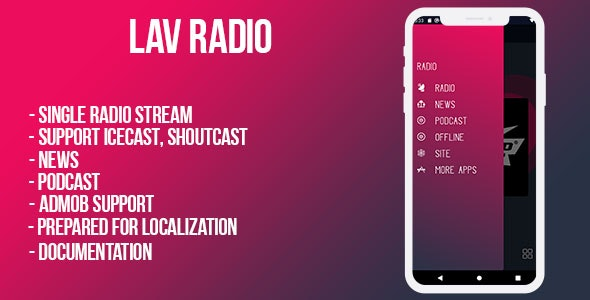 Lov Radio Bundle ( android & ios pack) - CodeCanyon Item for Sale