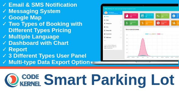 CK Smart Parking Lot - Parking Reservation System