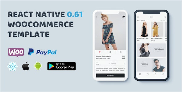 StoreX Pro - React Native Complete Ecommerce Template - CodeCanyon Item for Sale
