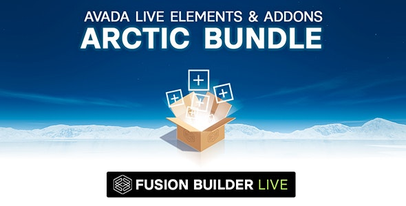 Fusion Builder Live Arctic Bundle of Elements & Add-ons for Avada Live (v6+) - CodeCanyon Item for Sale