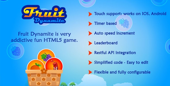 Fruit Dynamite HTML5 Game