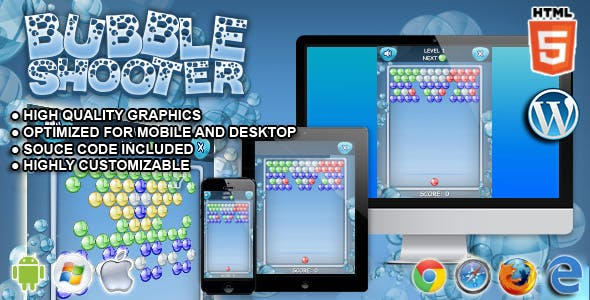 Bubble Shooter - HTML5 Games
