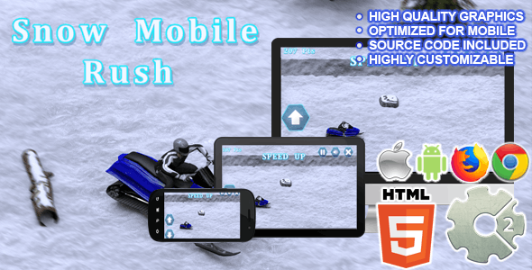 Snow Mobile Rush ( CAPX + HTML5 )