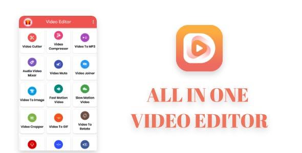 Video Editor : Gif Maker ,Trim, Crop, Cut, video to photo
