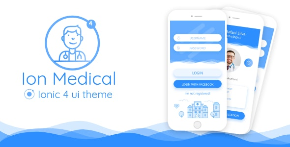 Ion Medical - ionic 4 medical center UI theme - CodeCanyon Item for Sale