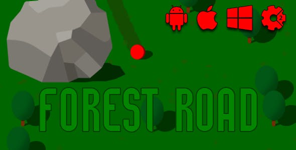 Forest Road - HTML5 Game (CAPX)