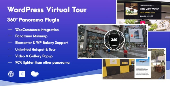 WordPress Virtual Tour 360 Panorama Plugin - CodeCanyon Item for Sale