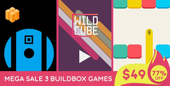 Mega Bundle 3 Games - Buildbox + IOS - CodeCanyon Item for Sale