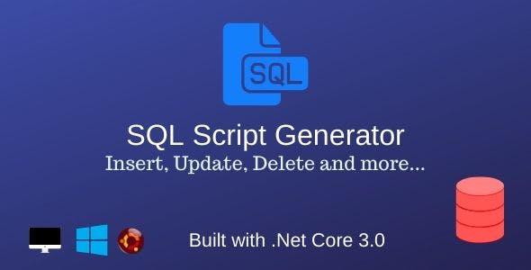 SQL Script Generator