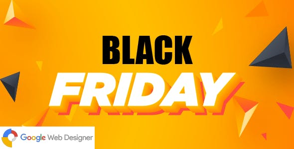 Black Friday | HTML5 Google Ad Banner