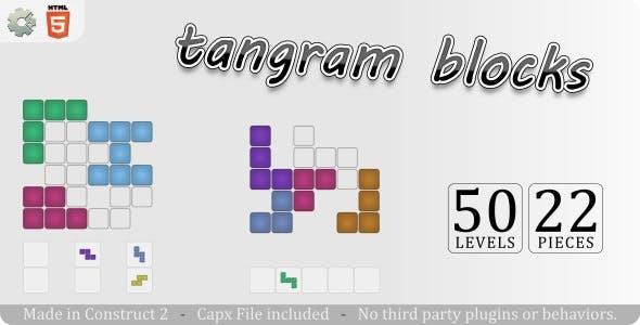 Tangram Blocks - HTML5 Casual game
