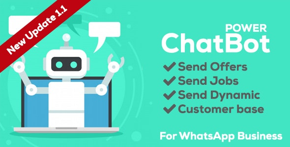 Power ChatBot - Auto Attendant - CodeCanyon Item for Sale