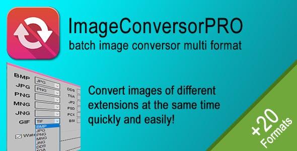 ImageConversorPRO - Batch image converter multi format