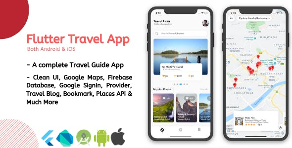 Flutter Travel App - Travel Hour