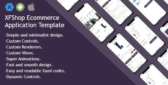XFShop Ecommerce Application Template - Xamarin Forms (Android/iOS) - CodeCanyon Item for Sale