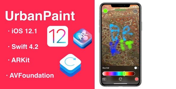 UrbanPaint an app to paint on the walls