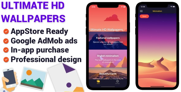 Ultimate Hd Wallpapers Ios App By Utilitymandev Codecanyon