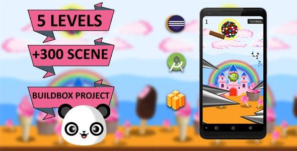 Super Adventure  Panda Complet Buildbox Project (Android Studio + Admob + GDPR Support + API 28 + Ec